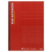 プラス ノートブック セミB5 30枚 A罫 NO-003AS-10P 76729 1箱(160冊:10冊入×16袋)