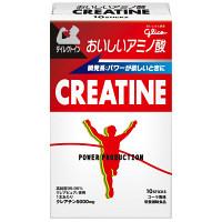 パワープロダクション おいしいアミノ酸 クレアチンスティックパウダー コーラ風味 1箱(5.2g×10本) 江崎グリコ