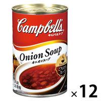 キャンベル <日本語ラベル>オニオンスープ 12缶
