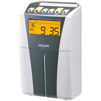アマノ 電子タイムレコーダー シルバー/ホワイト CRX-200(S)