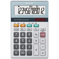 シャープ 12桁小型卓上電卓 EL-M712-K