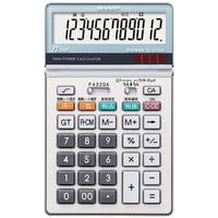 シャープ 12桁中型卓上電卓 EL-N732-K