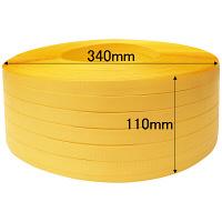 PPバンド 手巻き用 幅15mm×1000m巻 1巻