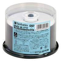 PCデータ用DVD-R 4.7GB 16倍速対応スピンドル DHR47JP50F 1箱(5パック250枚) 三菱ケミカルメディア