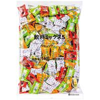 ロッテ 飲料ミックス5 徳用1袋(1kg:約305粒入り)