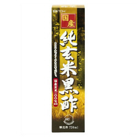 国産純玄米黒酢 1箱(720mL)