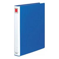 コクヨ チューブファイル(エコ) A4タテ とじ厚30mm 2穴 ブルー フ-E630B 1箱(10冊入)