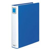 コクヨ チューブファイル(エコ) A4タテ とじ厚50mm 2穴 ブルー フ-E650B 1箱(10冊入)