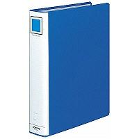 コクヨ チューブファイル(エコ) A4タテ とじ厚50mm 2穴 ブルー フ-E650B 1箱(30冊:10冊入×3箱)