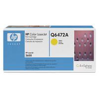 HP レーザートナーカートリッジ Q6472A イエロー (直送品)