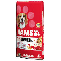 IAMS(アイムス) ドッグフード 成犬用 ラム&ライス 5kg 1個 マースジャパン