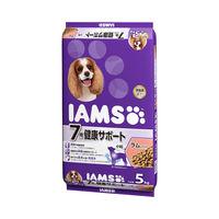 IAMS(アイムス) ドッグフード 7歳以上 シニア用 健康サポート ラム&ライス 小粒 5kg 1個 マースジャパン