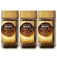 【インスタントコーヒー】ネスカフェ ゴールドブレンド 90g×3本【瓶】