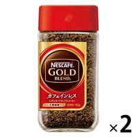 【インスタントコーヒー】【カフェインレス】ネスカフェ ゴールドブレンド カフェインレス 80g×2本【瓶】