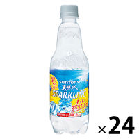 サントリー 南アルプスの天然水 スパークリングレモン ペット 500ml [4895]
