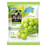 ぷるんと蒟蒻ゼリー パウチタイプ マスカット味 1袋(6個入) オリヒロ 栄養補助ゼリー