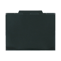 セキセイ 6インデックスフォルダ 黒 ACT-906-60 (直送品)