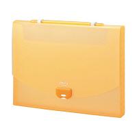 セキセイ プレイングケース A4 オレンジ AP-952-51 (直送品)