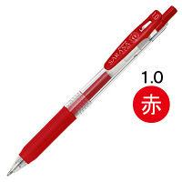 ゼブラ サラサクリップ 1.0mm 赤 JJE15-R