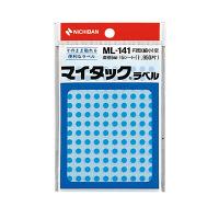ニチバン マイタック(R)ラベル カラー丸シール 空 5mm ML-14116 1パック(1950片入) (直送品)
