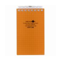 リヒトラブ ツイストリング・ノート メモ 橙 N-1661-4 (直送品)