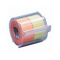 ヤマト メモックロールテープ レモン&オレンジ 25mm幅 カッター付 NORK-25CH-6C (直送品)