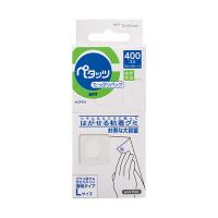 トンボ鉛筆 粘着グミペタッツたっぷりパック PD-WKV14G 1パック(400片入) (直送品)