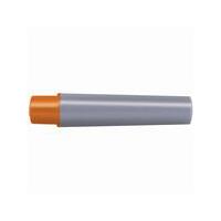 ゼブラ 油性マーカーカートリッジセット RYYT5-OR 1パック(カートリッジ1本+太字替芯1本) (直送品)