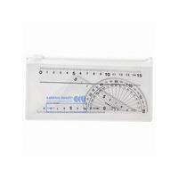 ソニック サンスウメイト定規セット4点 青 SN-566-B (取寄品)