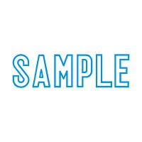 シヤチハタ Xスタンパー 「SAMPLE」 藍色 XBN-10023(直送品)