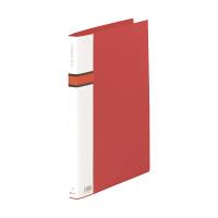 キングジム ロングZファイルPP 572 A4S赤 572アカ (直送品)
