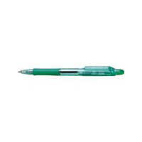 油性ボールペン ジムノック 0.7mm 黒インク 緑軸 ゼブラ (直送品)