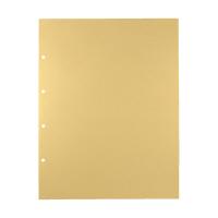キングジム デラックス透明ポケット A3S 4穴 105D 1パック(10枚入) (直送品)