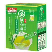 宇治の露製茶 伊右衛門 インスタント緑茶スティック 1箱(30本入)