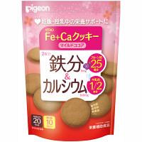 ピジョン Fe+Caクッキー マイルドココア 10枚入