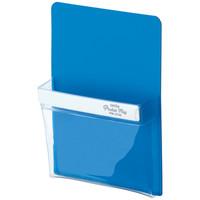 セキセイ マグネットポケット ポケマグ A6サイズ ブルー PM-2743-10 1個
