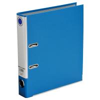 レバー式アーチファイル A4タテ 背幅50mm 3冊 ブルー SGLAF5BL ハピラ