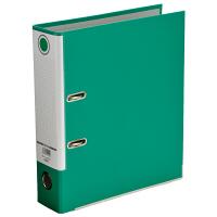 レバー式アーチファイル A4タテ 背幅80mm 10冊 グリーン SGLAF8GR ハピラ