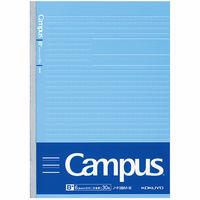 コクヨ 学習罫キャンパスノート〈文章〉 B5青6.8mm 学童/学習帳 ノーF3BM-B