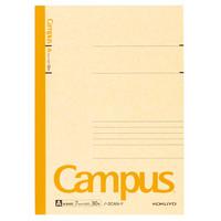 キャンパスノート セミB5 A罫 黄