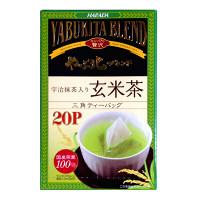 ハラダ製茶 やぶ北ブレンド 宇治抹茶入り玄米茶ティーバッグ 1箱(20バッグ入)