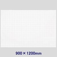 暗線入り薄型マグネットホワイトボードシート(特大) 900×1200mm マグエックス