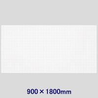 暗線入り薄型マグネットホワイトボードシート(超特大) 900×1800mm マグエックス