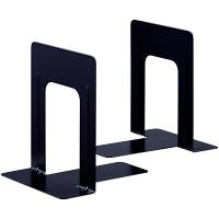 アスクル ブックエンド M ブラック 3組(6個)