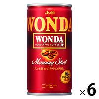 ワンダモーニングショツト 185g 6缶