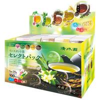 清水園 インスタント茶セレクトパック 1箱(100包入)