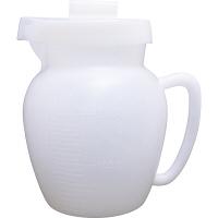 プラスチック蓄尿瓶(半透明・PE製) 70797000 松吉医科器械