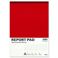 プラス レポート用紙 A4 A罫 RE-250A 76834 1セット(5冊入)