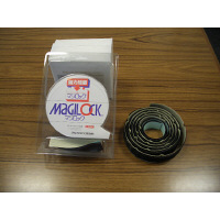 クラレファスニング マジロック 幅25mm×長さ1.5m 黒 1パック(1セット入)