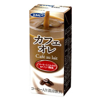 【アウトレット】エルビー カフェオレ 200ml 24094 1箱(24本入)